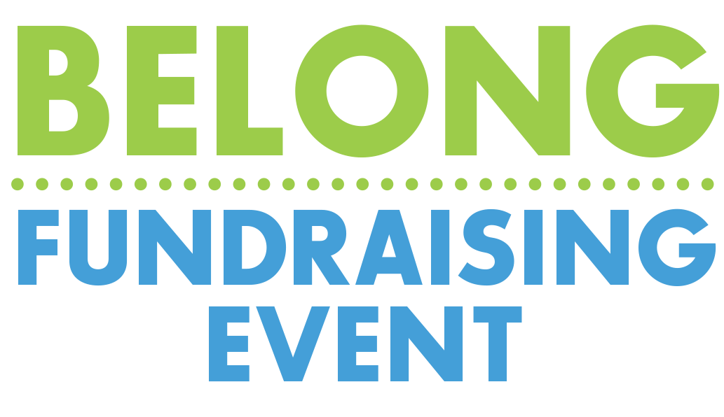 Belong Fundraising Event Logo