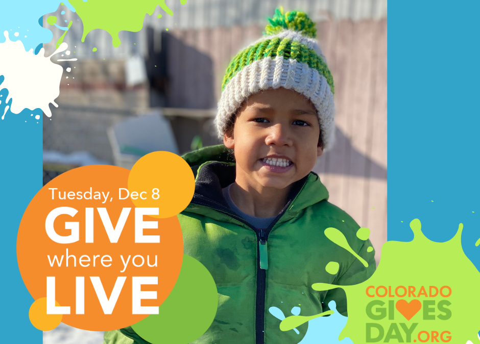 The Family Center/La Familia $20,000 Match MATTERS Today on Colorado Gives Day!